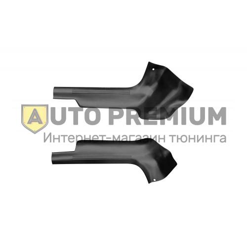 Накладки на ковролин передние (ABS) LADA Granta с 2011